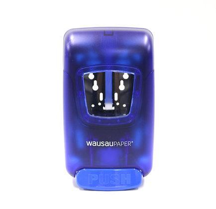 OptiSource Convertible Soap Dispenser Manual Lever (Blue Translucent)