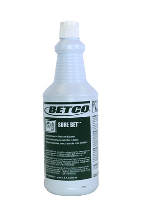 Betco: Sure Bet - Foaming Shower & Restroom Cleaner