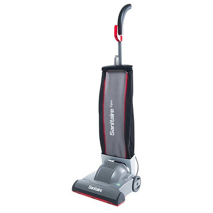 "Sanitaire SC9050D DURALITE 12"" Cloth Bagged Upright Vacuum Cleaner"