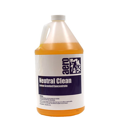 Aero: Neutral Cleaner - Lemon Scented Concentrate