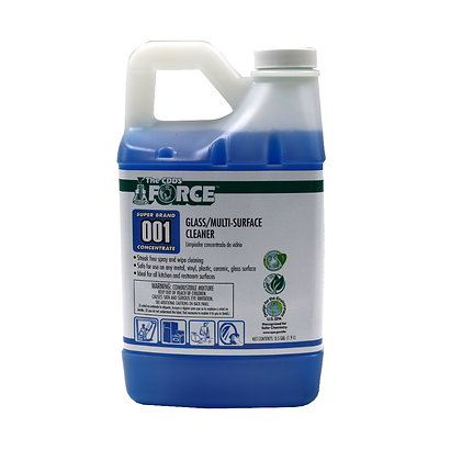 The CDDS Force Glass/Multi-Surface Cleaner