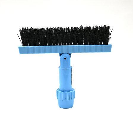 Swivel Tile & Grout Brush - Blue/Black Bristle