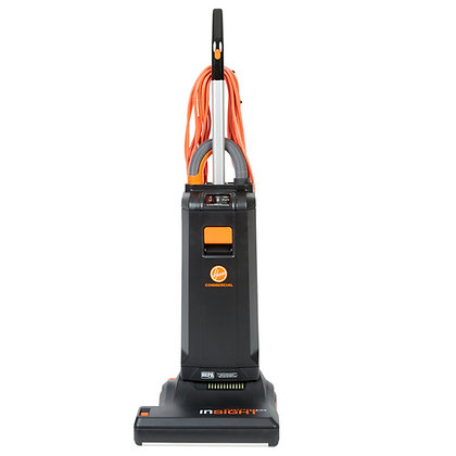 "Hoover: CH50102 15"" Insight Commercial Bagged Upright Vacuum"