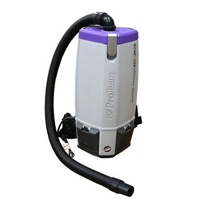 Pro-Team 10 Quart Super Coach Industrial Backpack Vacuum