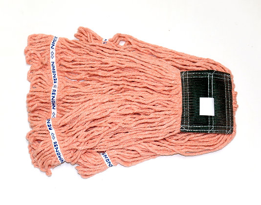 "Renown: Premium Medium Orange Blend Looped-End Wet Mop (5"" Headband)"