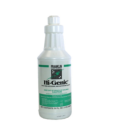 Franklin: Hi-Genic - Thick Non-Acid Bowl & Bathroom Cleaner