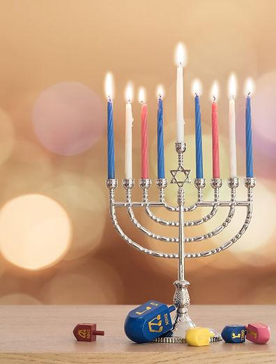 光明節蠟燭