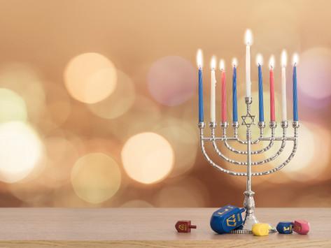 Chanukah Menorah Lighting Sunday, December 22nd