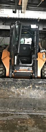 Skid loader firs floor