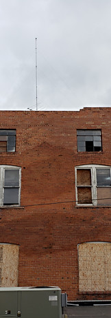 North side of building