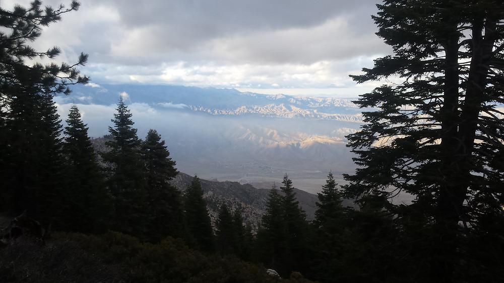 Looking toward Palm Springs from near Fuller Ridge