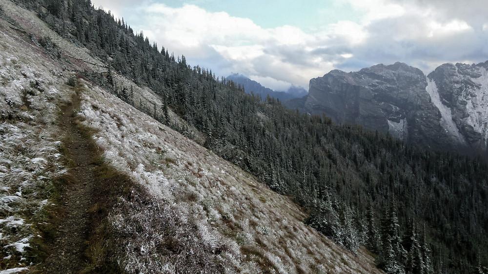 ascending Grasshopper Pass