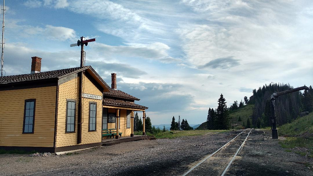 Cumbres Pass train station
