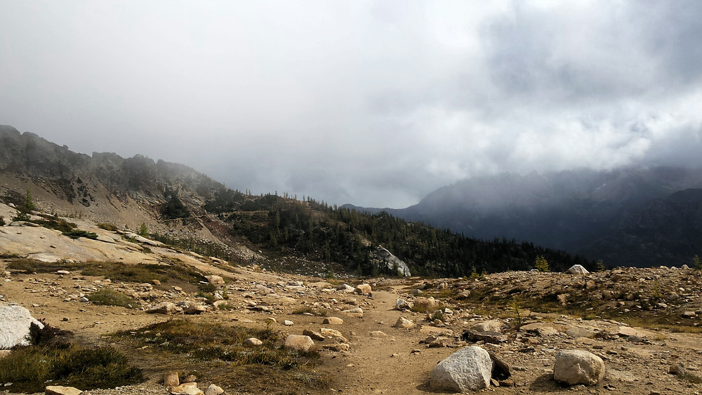 north view from Cutthroat Pass