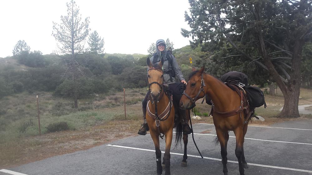 Leaving Hurkey Creek campground