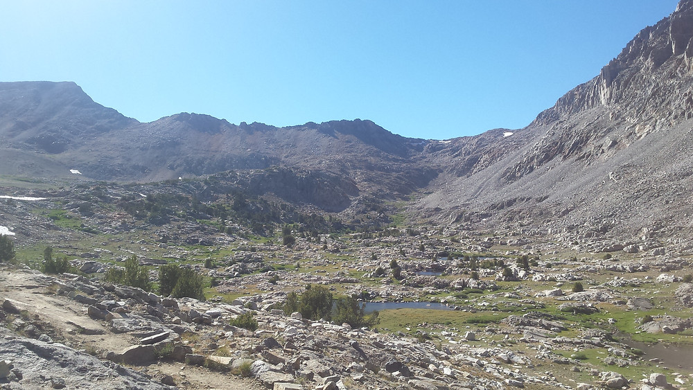 South side of Pinchot Pass