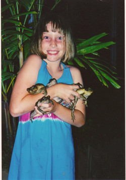 so many toads, so much joy
