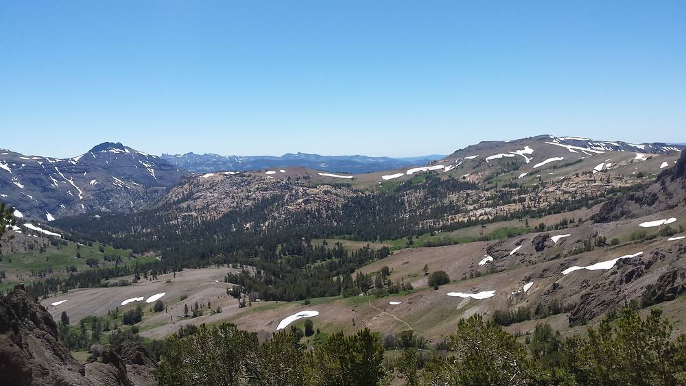 View from Dick's Pass
