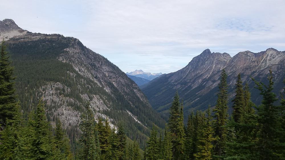looking north toward Stehekin
