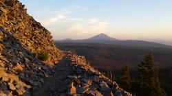 heading toward Mt. McLaughlin