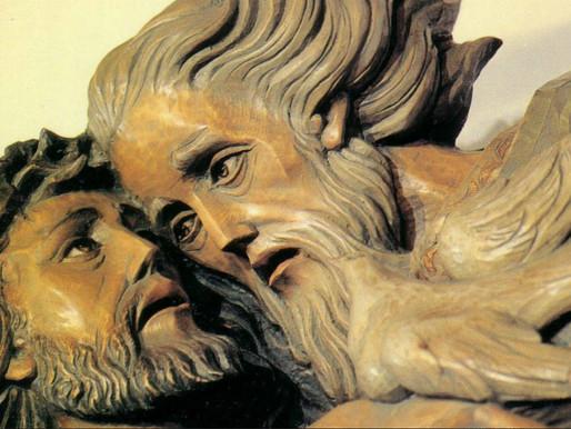 God, Jezus en de klauterende kleuter