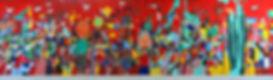 Mural. Tsin'nTsu.Lopez Rayon,Ixmiquilpan