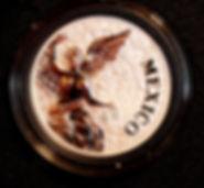 Medalla.Mexicano distinguido. Adrian Jes