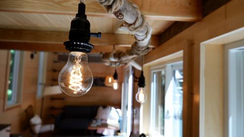 Kitchen Light Fixture (detail)