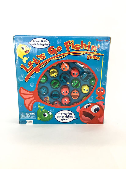 G-017 Let's Go Fishing Game