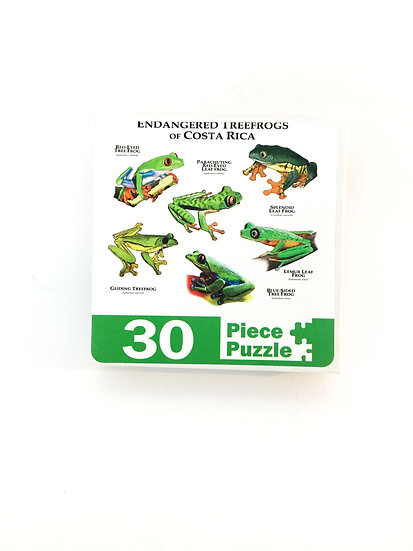 P-016 Endangered Treefrogs of Costa Rica - 30 piece