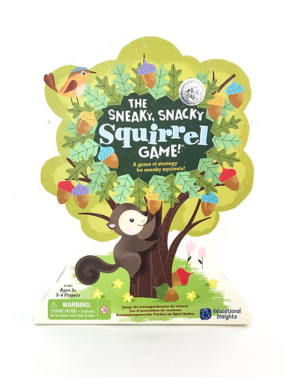 G-026 The Sneaky, Snacky, Squirrel Game!