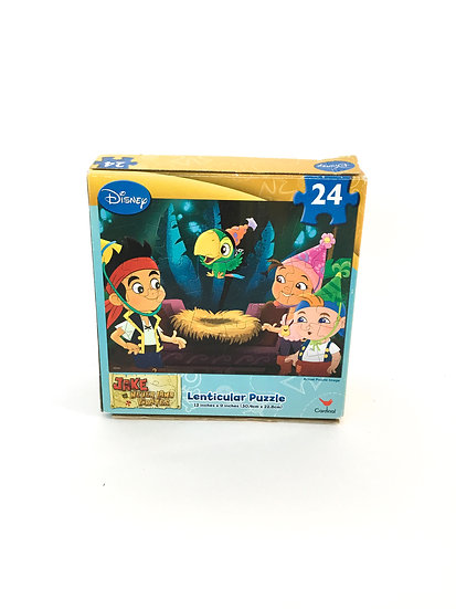 P-010 Jake and the Neverland Pirates Centicular 24 Piece Puzzle