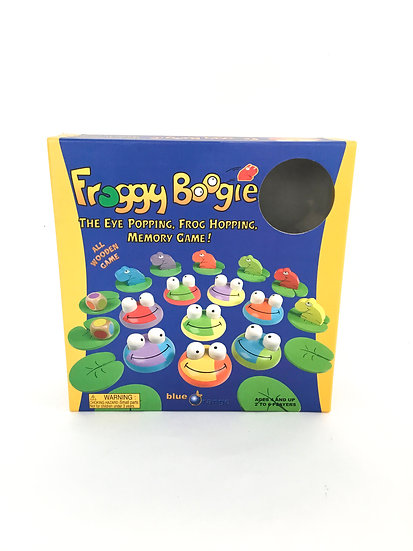 G-053 Froggy Boogie Memory Game