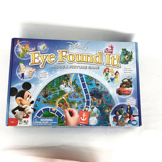 G-125 Disney Eye Found It: Hidden Picture Game