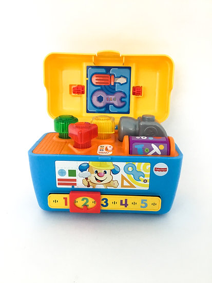 B-076 Fisher Price 123 Smart Stages Toolbox