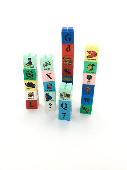 L-007 Letter Number Picture Blocks