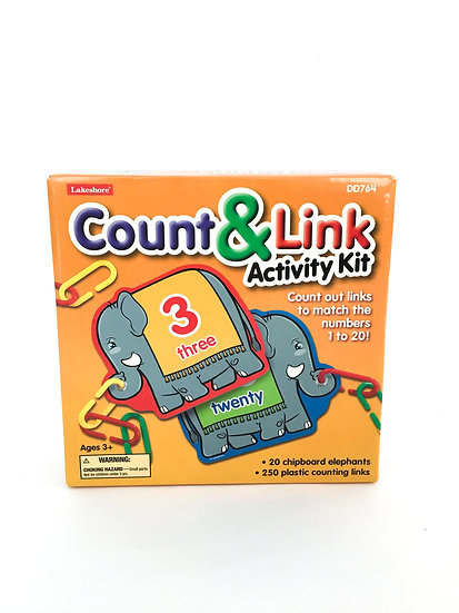 S-007 Lakeshore - Count and Links Activity Kit