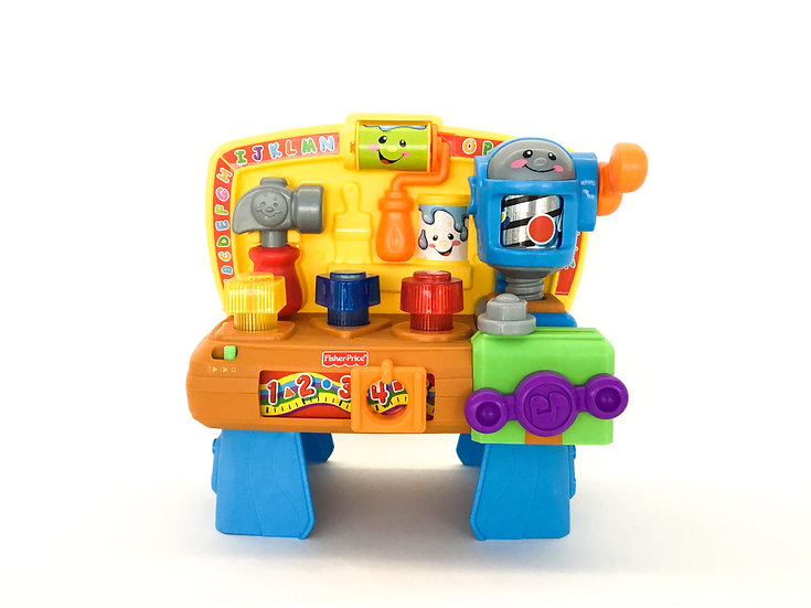 B-101 Fisher Price Laugh & Learn Workbench