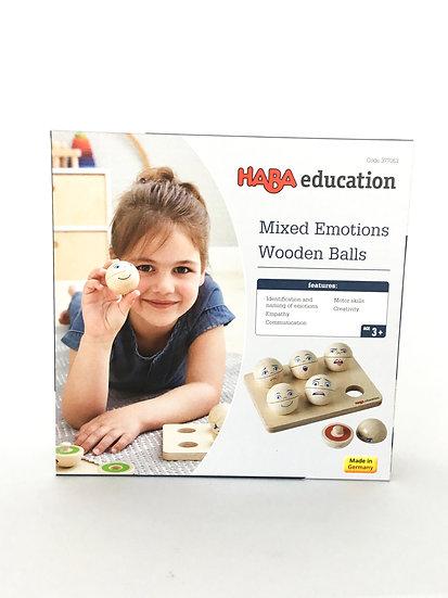 G-092 HABA: Mixed Emotions Wooden Balls