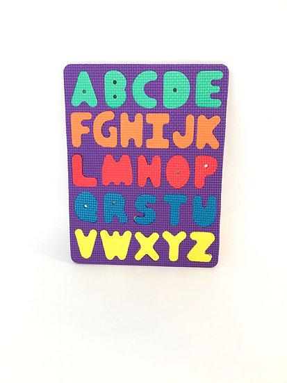 P-032 Foam Puzzle: A through Z
