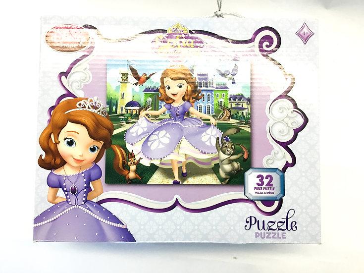 P-048 Disney Sofia the First - 32 piece puzzle