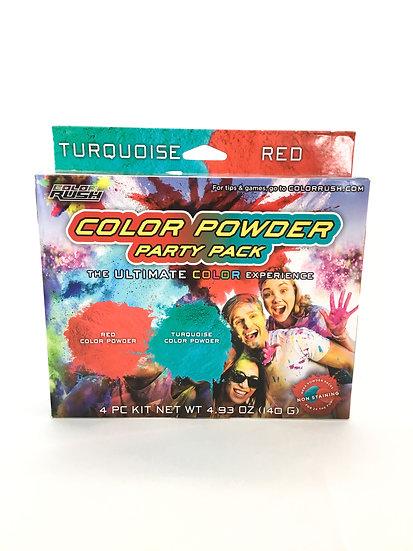 C-004 Color Rush Color Powder Party Pack
