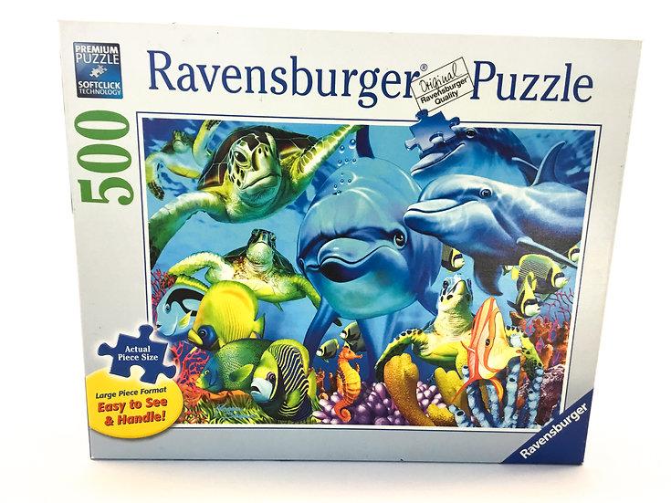 P-058 Ravensburger Sea Creature Puzzle - 100 piece