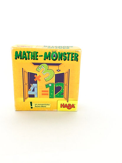 G-087 HABA Games: Mathe Monster