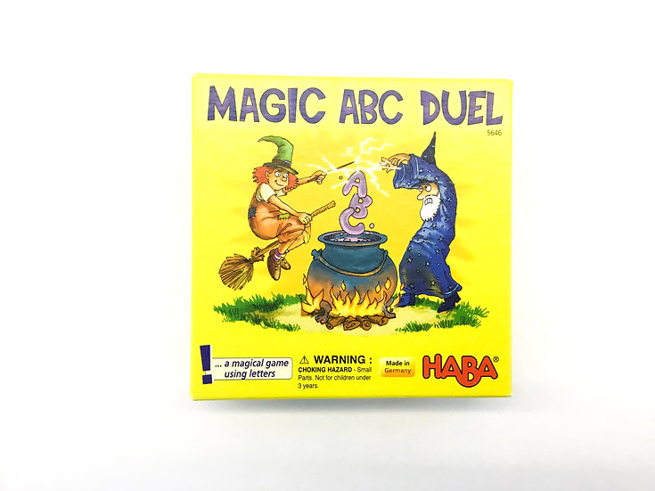 G-073 HABA Games: Magic ABC Duel