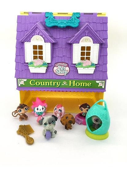 D- 007 Littlest Pet Shop Country Home