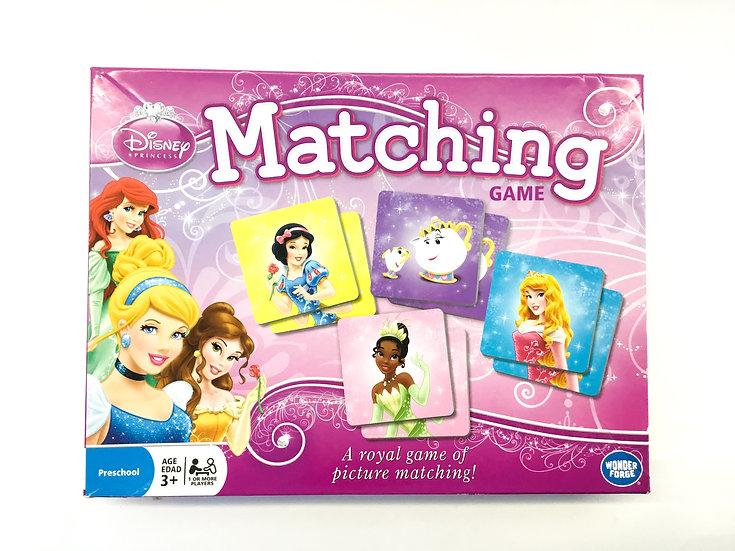 G-100 Disney Princess Matching Game