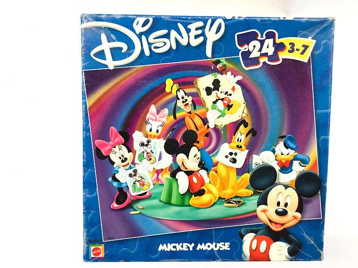 P-045 Disney Mickey Mouse - 24 piece puzzle