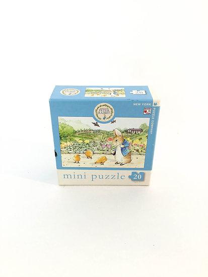 P-020 Peter Rabbit Mini Puzzle (20 piece)
