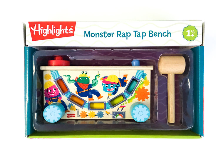 B-103 Monster Rap Tap Bench